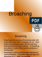 Spline Broaching