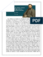 Lev Tolstoi Sau Contele Lev Nicolaevici Tolstoi