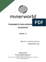 Treinamento Para Apresentação de Negócio (Minerworld) - Eng. José Guilherme Espíndola