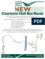 New Bus Route to Connect STS Riders to Calvert County