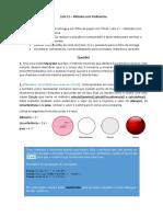 Lista 11 Métodos Parametros