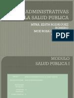 Bases Administrativas de La Salud Publica