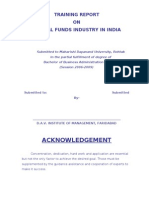 Mutual Funds Industry in India