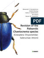 Revision of the Palearctic Chaetocnema Species