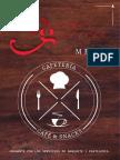 Manual para creación de Menú gourmet