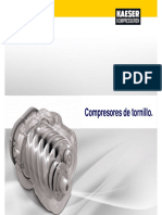 Funcionamiento de Compresores de Tornillo