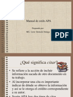 Manual de Estilo APA 1