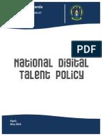 Digital Talent Policy Last Version