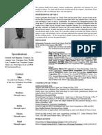 Animesh Sinha-Academic Profile