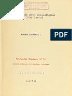Diccionario de Sitios Arqueológicos de Chile Central