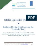 Edified Generation Rwanda - BDDY Final Proposal