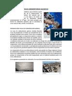 Rocas Sedimentarias Quimicas
