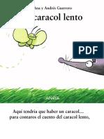 Libro Álbum - El Caracol Lento