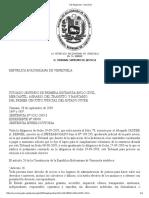Tutela Judicial - Tsj Regiones - Decisión