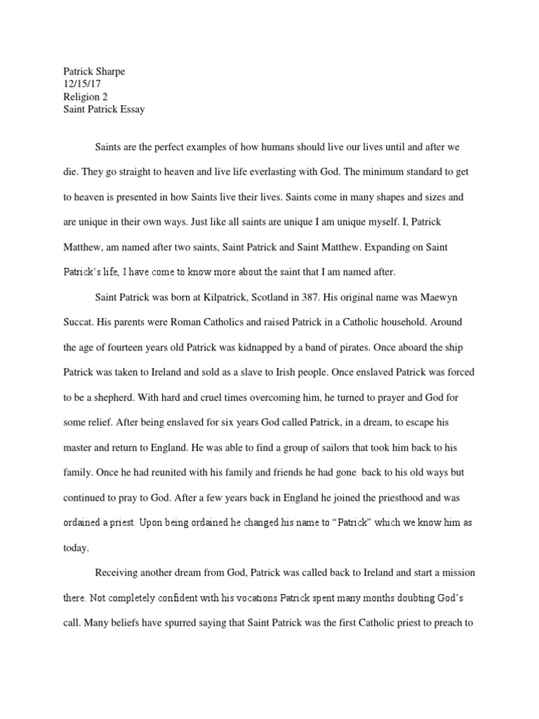 what does it mean to be catholic essay