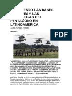 Resistiendo Las Bases Militares y Las Estrategias Del Pentágono en Latinoamérica