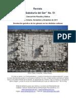 """La Sabiduria del Ser N°51 """"Develación gnóstica de los génesis en las distintas culturas"""""""