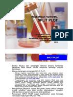 Perancangan Percobaan Faktorial Split Plot Diyan Herdiyantoro 2013 PDF