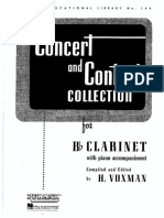 Concert and Contest Collection Clarinet
