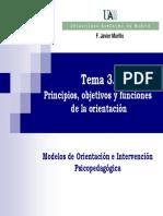 Modelos de intervención psicopedagógico