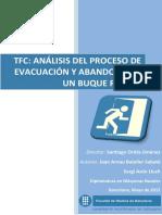 Tfc Analisis Del Proceso de Evacuacion y Abandono de Un Buque Ro-pax