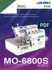fast sewing machine mo6800s