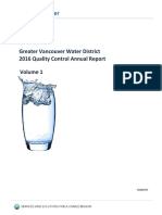 2016 Water Quality Annual Report Volume1