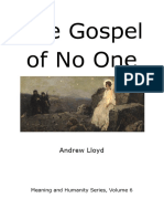 The Gospel of No One