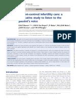Patientcentred Infertility Care a Qualitative Study to Listen to the Patients Voice Hum Reprod 2011 Apr26482733 Doi 101093humrepder022