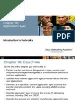 Nivelul aplicatie retele
