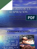 Fisiologìa de La Respiracion