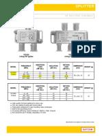 SATCOM Splitters Taps(1)