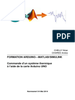 Formation Arduino Matlab