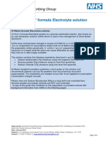 St Marks Formula Electrolyte Solution - EKPG Information - Jan 2015