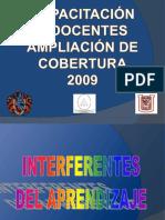 INTERFERENTES DEL APRENDIZAJE.ppt