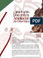 capacitacion ampliacion de cobertura 2009.pps