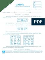 Cuadernillo y plantilla test de percepcion de diferencias Caras.pdf
