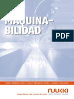 Ruukki Procesamiento Del Acero Laminado en Caliente Maquinabilidad