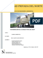 Sexto Informe de Quimica Ambiental