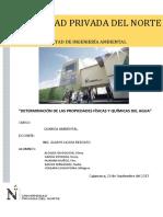 Tercer Informe de Quimica Ambiental