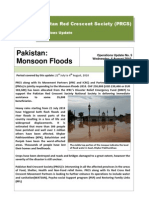 Pakistan Monsoon Floods PRCS Report