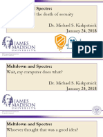 Meltdown Spectre Jan18