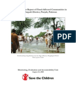 Rapid Assessment Report of Flood-District Punjab