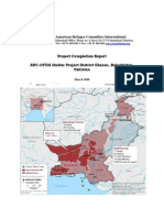 American Refugee Committee International Report