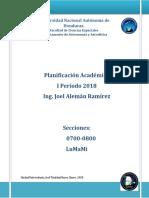 1.0 Planificación Académica Primer Período_2018
