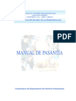 Manual de Pasantía