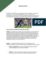 Consulta Futbol y Voley