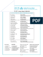 IOB Annual Report 2009-2010