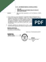ejemplo de una Nota Informativa pnp