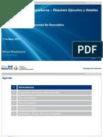 Plan Maestro de Hidrocarburos, 2013